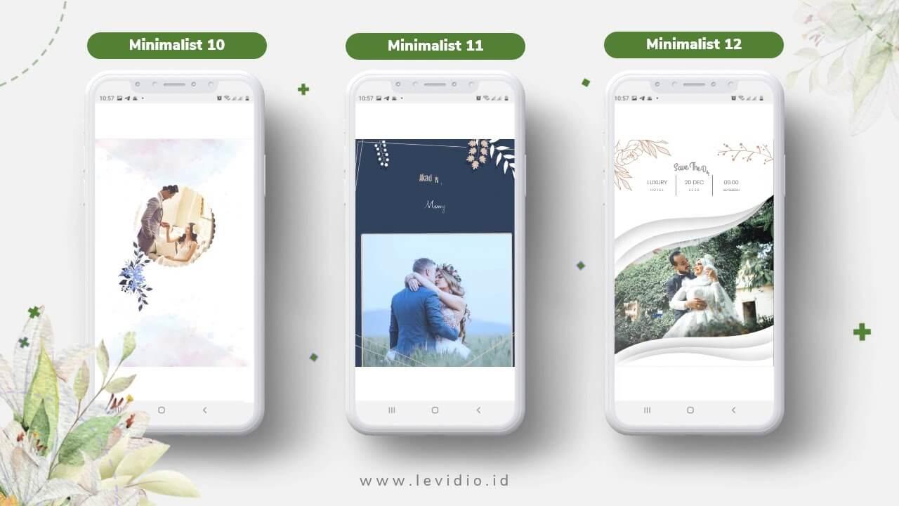 Video Undangan Pernikahan Radigi Wedding Minimalis 10-12