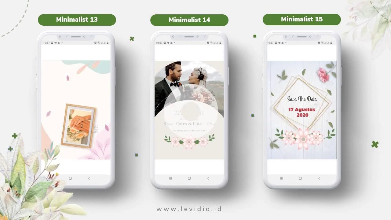 Video Undangan Pernikahan Radigi Wedding Minimalis 13-15