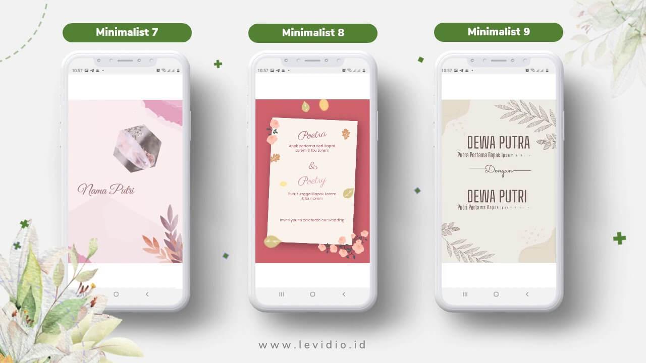 Video Undangan Pernikahan Radigi Wedding Minimalis 7-9